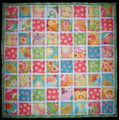 Ticker Tape Quilt | I whipped up this Ticker Tape Quilt to h… | Flickr - Photo Sharing!