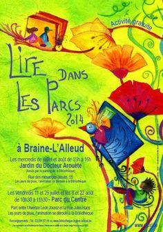 Lire dans les parcs : Rendez-vous dans le Jardin du Docteur Arouète, de 15h à 16h...