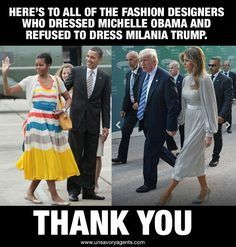 Milania Trump looks great as a first lady. Michelle Obama could never come close to look as good. << Michelle Obama was a better First Lady, more beautiful, and a greater person in general. If anything, Milania does not come close to her. Liberal Logic, Stupid Liberals, Liberal Left, Politicians, First Lady Melania Trump, Melania Trump Young, Conservative Politics, Conservative Quotes, Our President