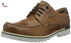 FRETZ men  Lee, chaussures à lacets  homme - Marron - Braun (39 caramel), 48 EU - Chaussures fretz men (*Partner-Link)