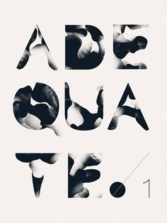 Designed by Thomas Kim. The gradients and contrast of dark and light values create a visually appealing piece of type design. Cool Typography, Typography Layout, Typographic Design, Typography Letters, Typography Poster, Graphic Design Typography, Graphic Art, Font Art, Typographie Fonts