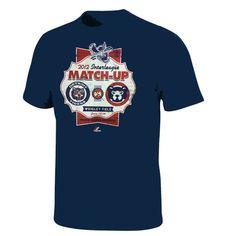 Detroit Tigers vs Chicago Cubs Interleague Nitecap Shirt by Majestic (6.11.12) $27.95