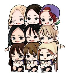 Twice chibi twicechibi cute pretty kpop freetoedit. Nayeon, K Pop, Twice Fanart, Jihyo Twice, Kpop Drawings, Twice Kpop, Good Day Song, Dahyun, Kpop Fanart