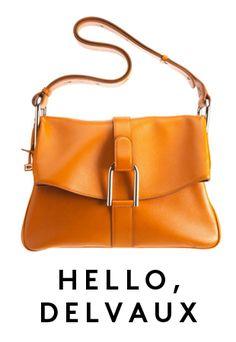 Delvaux bag at Barneys NY.