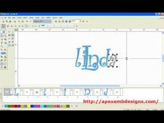 Merging Embroidery Designs & Fonts Sewing Machine Embroidery, Embroidery Software, Bernina 830, Brother Embroidery, Dream Machine, Janome, Appliques, Monogram, Craft Ideas