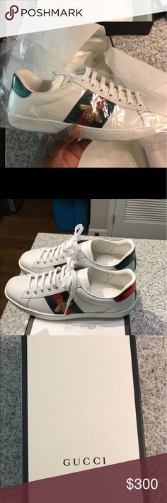 Gucci bumble bee authentic sneakers 100% authentic - shipped same day as payment - Gucci Gucci Shoes Sneakers