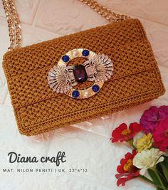 Crochet Stitches, Crochet Patterns, Crochet Wallet, Charts, Pouch, Shoulder Bag, Inspiration, Bags, Crochet Pouch