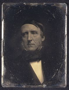 Another Southworth daguerrotype, this one of William Hickling Prescott c. Lovely glimpse of white shirt and black tie. Vintage Wall Art, Vintage Walls, Shell House, William And Mary, Daguerreotype, Historical Maps, Metropolitan Museum, Vintage Photography, Old Pictures