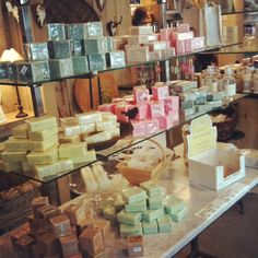 naturally she felt like a kid in a (soap) toy store Beer Soap, Felted Soap, Soap Display, Natural Soaps, Craft Show Ideas, Store Displays, Toy Store, Salts, Lotions