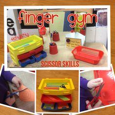 Scissor skills Finger Gym                                                       …