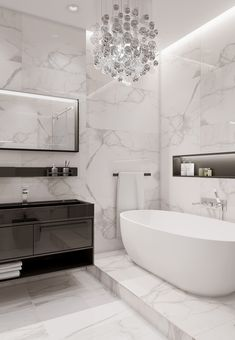 Gray Eclectic apartment on Behance Washroom Design, Bathroom Design Luxury, Modern Bathroom Design, Home Room Design, Home Interior Design, Bathroom Design Inspiration, Design Ideas, Dream Bathrooms, House Rooms