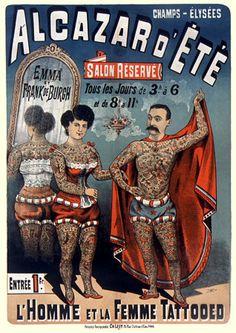 Vintage Tattoo Posters & Prints