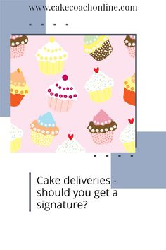 When selling cakes is it important to get a signature upon collection? What about if you deliver to a venue and the customer is not even present? What do you do then? Read our blog to discover our hints and tips. Why not save this pin to your own Cake Board for safe keeping too?