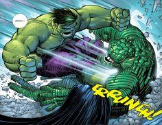 Hulk vs Abomination by John Romita Jr.