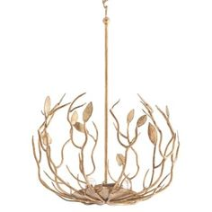 Check out this item at One Kings Lane! Upton 5-Light Pendant, Gold