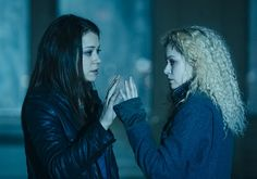"""In an unusually touching moment, Sarah reveals her true feelings about Helena's presumed demise. (Episode 5)  """"What was wonderful about it is that we got to see Sarah's love for Helena and the mess of emotions that she felt about what she'd done at the end of Season 1, when she shot Helena,"""" says Maslany. """"Obviously, she felt very strongly about getting rid of her, that she was in the way and that she was a danger to Sarah's life and to her daughter..."""