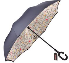 Woodworking Tools Double Layer Inverted Umbrella With C-Shaped Handle