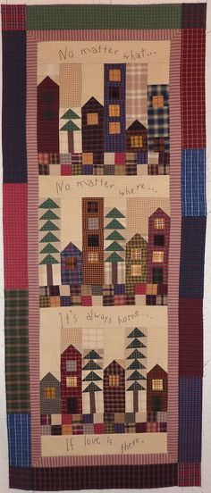 Always Home - Kathys Quilts