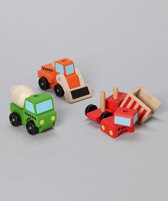 Stacking Construction Vehicles by Melissa & Doug on #zulilyUK today!