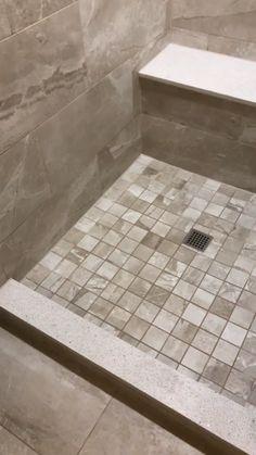 Amazing DIY Bathroom Ideas, Bathroom Decor, Bathroom Remodel and Bathroom Projects to greatly help inspire your master bathroomsbathrooms dreams and goals. Wall Tiles Design, Bathroom Tile Designs, Diy Bathroom Decor, Bathroom Interior, Bathroom Ideas, Bathroom Organization, Budget Bathroom, Bathroom Storage, Bathroom Design Layout