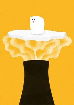 Des illustrations pleines de sens qui montrent comment nous détruisons la planète au quotidien © Eglė Plytnikaitė