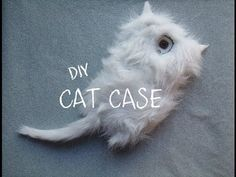 ▶ DIY: Fluffy/Furry Cat Phone Case - YouTube