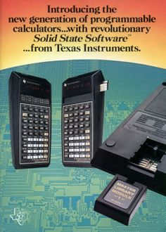 Programmable calculators with revolutionary Solid State Software… from Texas Instruments. (Sep, 1977)