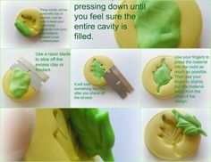 Polymer Clay Molds Tutorial