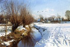 Peder Mork Monsted (1859-1941)