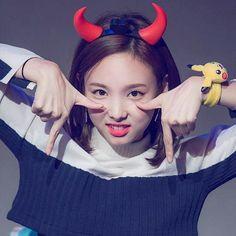 Happy halloween guys!! Gada foto sendiri. Pake foto si cute aja deh.. hahaha #limnayeon #nayeon #twice #tt #halloween #31thoctober #2016