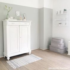 Two Tone Walls Adding Height & Space ~ Stace King Interior, Home, New Homes, Tall Cabinet Storage, Room Inspiration, House Interior, Home Deco, Two Tone Walls, Home And Living