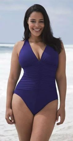 1a958ef1e9b36 Newest women plus size swimwear high wais Sexy Hollow out Patchwork push-up One  piece swimsuit bodysuit slim wear bathing suits