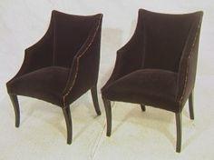 Merveilleux Pair Of Phantom Arm Chairs. John Hutton For Donghia. Pr DONGHIA For JOHN  HUTTON