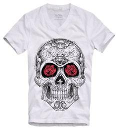 Camiseta Old Skull wwww.laditta.com.br #tshirt #oldskull #skull #caveira #laditta
