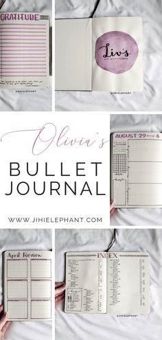 Here is a breakdown of the bullet journal inspired planner created for Olivia. For Olivia's notebook the main colors are pink and purple. Bullet Journal Layout, Bullet Journal Inspiration, Bullet Journals, Journal Ideas, Small Calendar, Planner Layout, Planner Tips, Year In Pixels, All Caps Font