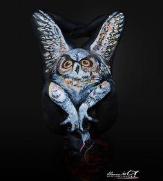 Shannon Holt: İnsan Vücuduna Gizlenmiş Hayvanlar - Amerikalı sanatçı Shannon Holt kendine özgü vücut sanatı resimlerinin altında insan vücudunu saklayarak sanat yapan bir ustasıdır.