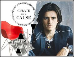 I pinned this from the Orlando Bloom: Curate for a Cause - An Inspired Collection to Benefit EB Medical Research Foundation event at Joss and Main!