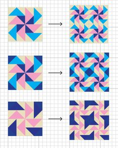 Mighty Distractible: Dutchman's Puzzle Quilt Block