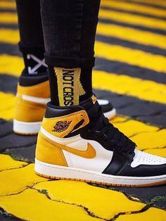0c2e42b9ff55de Nike Air Jordan 1 Best Hand In The Game - Yellow Ochre - 2018 (by