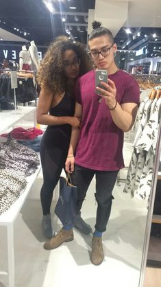 Super cute interracial couple proving there is never a bad time for a selfie Mixed Couples, Black Couples, Couples In Love, Couple Relationship, Cute Relationship Goals, Cute Relationships, Black Woman White Man, Black Love, Cute Couples Goals