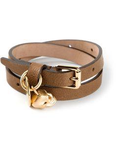 ALEXANDER MCQUEEN skull buckled bracelet on Vein - getvein.com Alexander Mcqueen Bracelet, Cool Style, Skull, Belt, Detail, Brown, Bracelets, Accessories, Fashion
