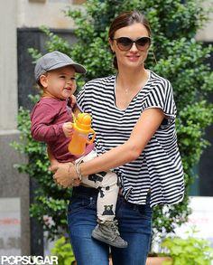 Miranda Kerr and her precious baby Flynn