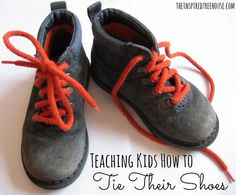 Unfortunately, learning to tie shoelaces doesn't come easily for all kids. To keep those little spirits up and motivated, here are some of our favorite shoe-tying methods and tips. #shoetyingtips #finemotor #backtoschool #independentdressing #childdevelopment #pediot #otbloggers #tieyourownshoes