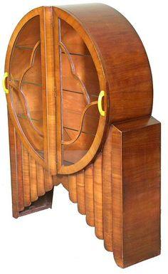 Art Deco Rocket Cabinet