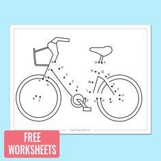 bike-dot-to-dot-worksheet