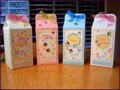 scatole .... del latte???