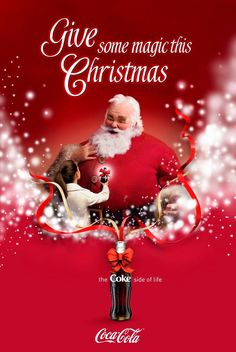 Coca Cola - Give some magic this Christmas.