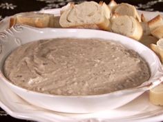 Wild Mushroom Dip recipe from Sandra Lee via Food Network