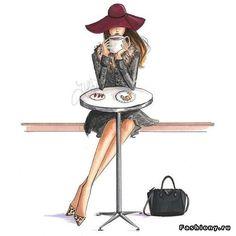 Fashion-иллюстрации Holly Nichols
