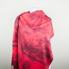 Pashmina Scarf with The ISTANBUL Print